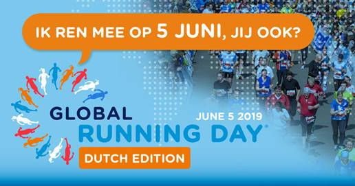 Global Running Day ook in Nederland